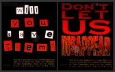 Tiger Conservation Typography Ads | Photoshop CS2 | 10.24.2010
