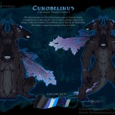 Cunobelinus Reference Sheet | Pencil. Paint Tool SAI. Photoshop CS2 | 4.6.2016