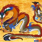Mandarin Lung Dragon | Photoshop CS2 | 10.15.2011