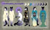 Shrouded Kitsune | Paint Tool SAI. Photoshop CS2 | 2.26.2017